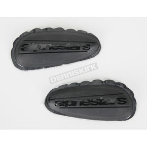 Alpinestars Replacement Black Toe Sliders  - 25SLIPUT-NE