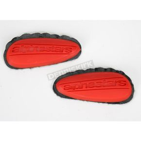 Alpinestars Replacement Red Toe Sliders  - 25SLIPUT-RD