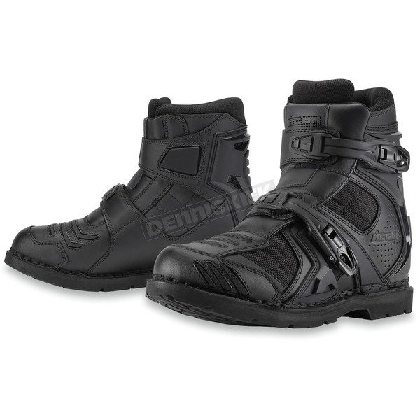 Icon Black Field Armor 2 CE Boots - 3403-0569