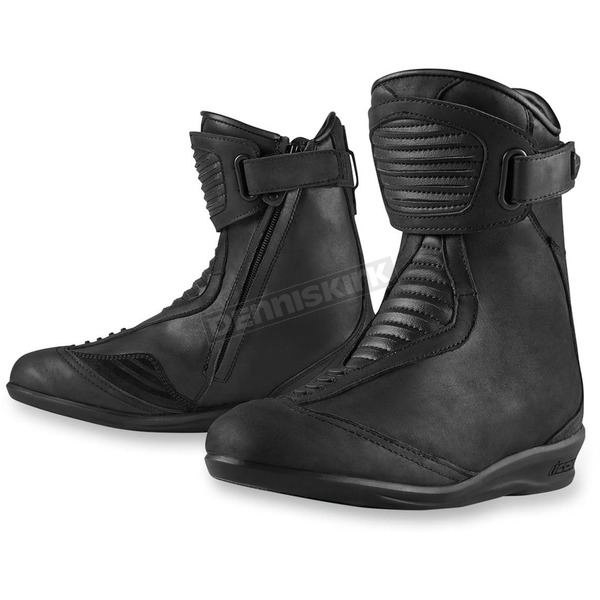 Icon Womens Stealth Eastside Boots - 3403-0621