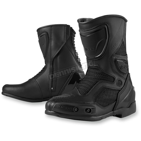 Icon Womens Stealth Overlord Boots - 3403-0656