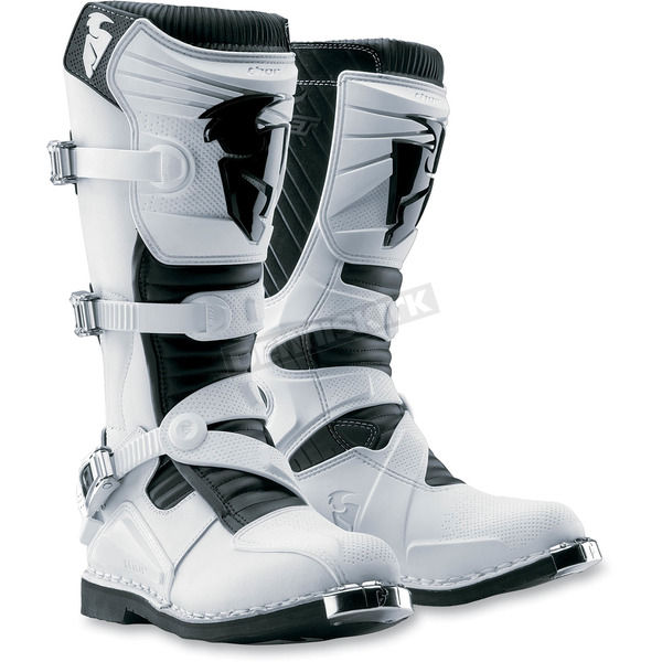 Thor White Ratchet Boots - 3410-0754