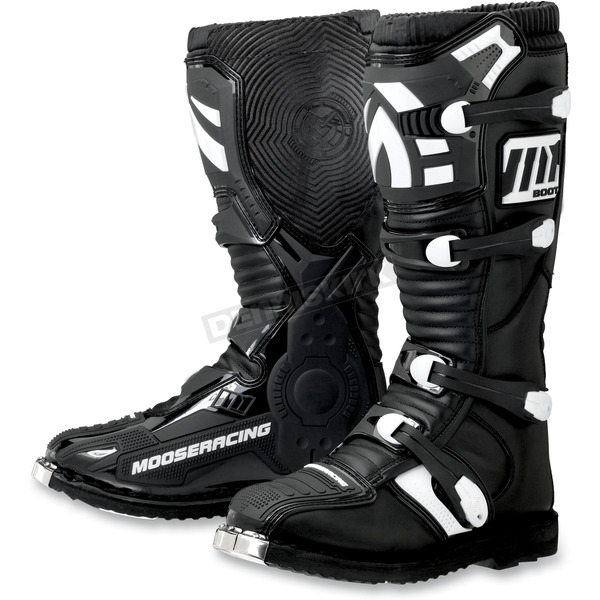 Moose Youth Black M1.2 Boots - 3411-0263