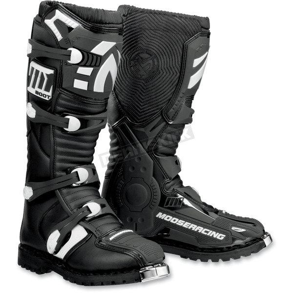 Moose Black M1.2 ATV CE Boots - 3410-0911