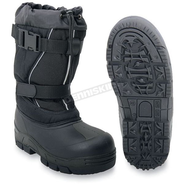 Altimate Impact Black Boots - IMPACT10