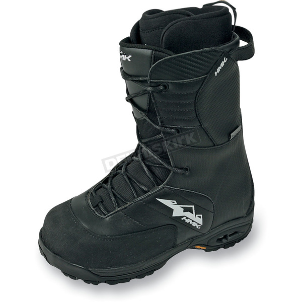 HMK Black Team Lace Boots - HM911TB