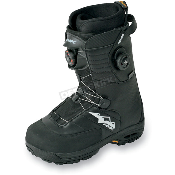 HMK Black Team Focus Boots - HM912TDUALB