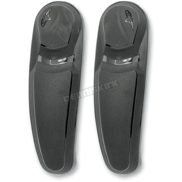 Alpinestars Black Replacement Toe Sliders for SMX-5 Boots - 25SLISMX11-10