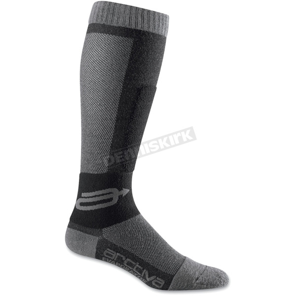 Arctiva Youth Evaporator Black/Gray Socks - 3431-0099