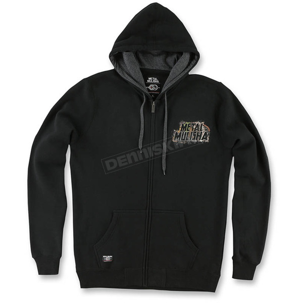 Metal Mulisha Mens Black Sight Hoody - M455S22400BLKM