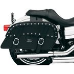 Jumbo Throw-Over Desperado Slant Saddlebags - 3501-0317