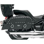 Extra Jumbo Throw-Over Desperado Slant Saddlebags - 3501-0318