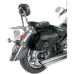 Small Hard Mount Belted Revolution Saddlebags - SB1802