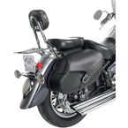 Large Throw-Over Belted Revolution Saddlebags - SB1903
