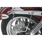 Chrome Saddlebag Support Brackets - 110830