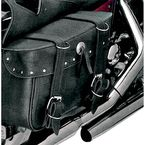 Rivet Box Style Slant Saddlebags - 9056RVT