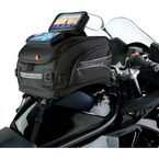 Black GPS Sport Tank Bag w/Strap Mounts  - CL-2020-ST