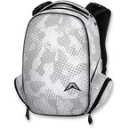 White Commuter Backpack - 3517-0335