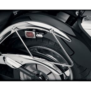 Show Chrome Saddlebag Supports - 71-119