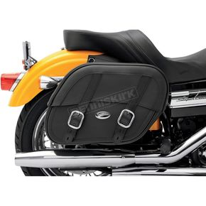 Saddlemen Drifter Saddlebags with Shock Cutaway - 3501-0576