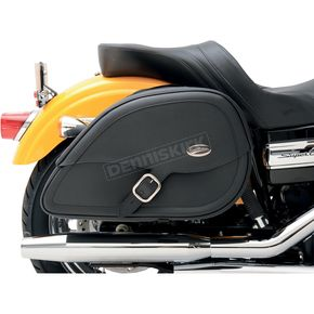 Saddlemen Drifter Teardrop Saddlebags with Shock Cutaway - 3501-0459