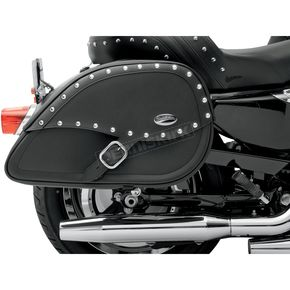 Saddlemen Desperado Rigid-Mount Specific-Fit Teardrop Saddlebags w/Integrated LED Auxiliary Lights - 3501-0616-LES