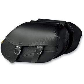 Willie & Max Large Throw-Over Swooped Revolution Saddlebags - 03442