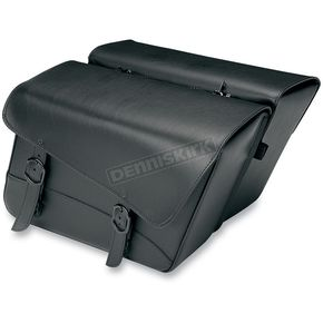 Willie & Max Throw-Over Black Jack Saddlebags - 59589-00