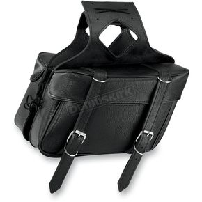 All American Rider Plain Box Style Slant Saddlebags - 9056P