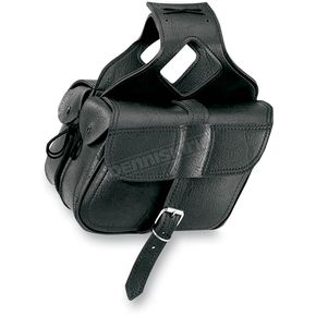 All American Rider Slant Flap-Over Style Saddlebags - 3036