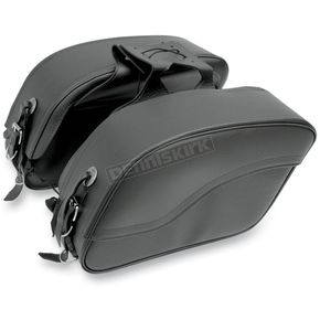 All American Rider Plain Extra-Large Futura 2000 Slant Saddlebags - 8800P