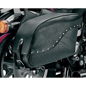 All American Rider Rivet Extra-Large Futura 2000 Slant Saddlebags - 8800RVT
