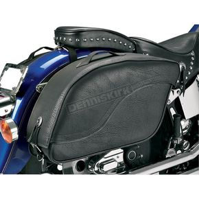 All American Rider Plain Futura 2000 Detachable Slant Saddlebags - 8805P