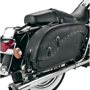 All American Rider Rivet Futura 2000 Detachable Slant Saddlebags - 8805RVT