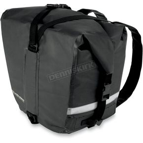 Nelson-Rigg Black Adventure Dry Saddlebags - SE-2050-BLK