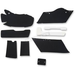 Drag Specialties Black Lining Kit for HD Hard Saddlebags - 3501-0943