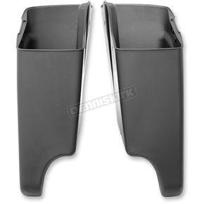 Drag Specialties Black Right Side Saddlebag Extension - 3501-1050