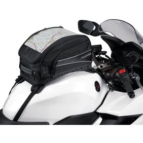 Nelson-Rigg Black CL-2015 Journey Mate Sport Tank Bag W/ Strap Mounts - CL-2015-ST