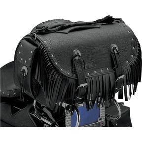 All American Rider Rivet Extra-Large Traveler Bike Rack Bag w/Fringe - 3002RCF