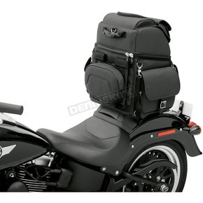 Saddlemen Plain B3400EX/S Combination Backrest, Seat and Sissy Bar Bag - 3515-0120