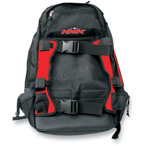 HMK Black/Red Backcountry Pack  - HM4PACKR