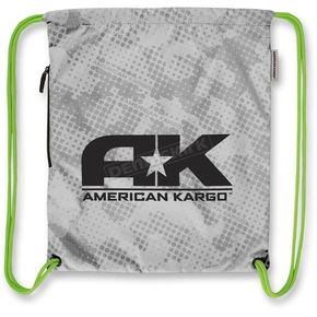 American Kargo White Cinch Bag - 3517-0328