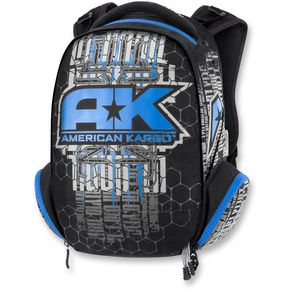 American Kargo Blue Commuter Backpack - 3517-0336