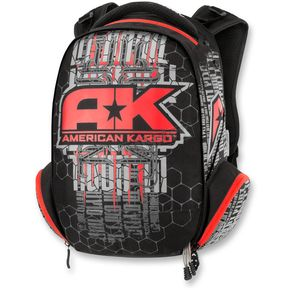 American Kargo Red Commuter Backpack - 3517-0337