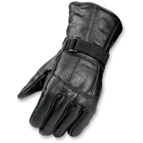Mossi All Season Black Leather Gloves - BCS-2660-2XL