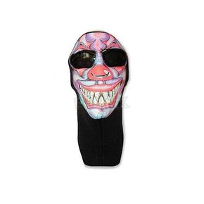 Wicked Wear Neoprene Clown Cool Weather Full Face Mask - 4010
