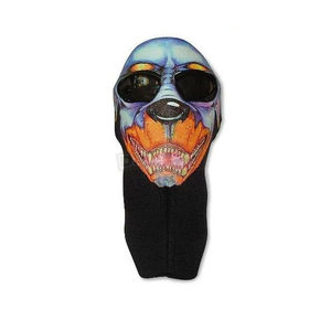 Wicked Wear Neoprene Dog Cool Weather Full Face Mask - 4011