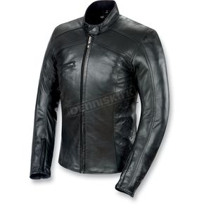 Power-Trip Ladies Scarlet Leather Jacket - 1041-0006