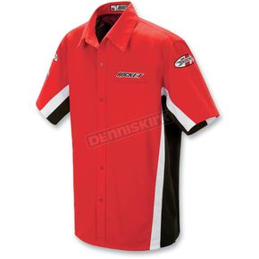 Joe Rocket Red/White Staff Shirt - 8053-0104