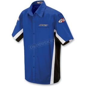 Joe Rocket Blue/White Staff Shirt - 8053-0203